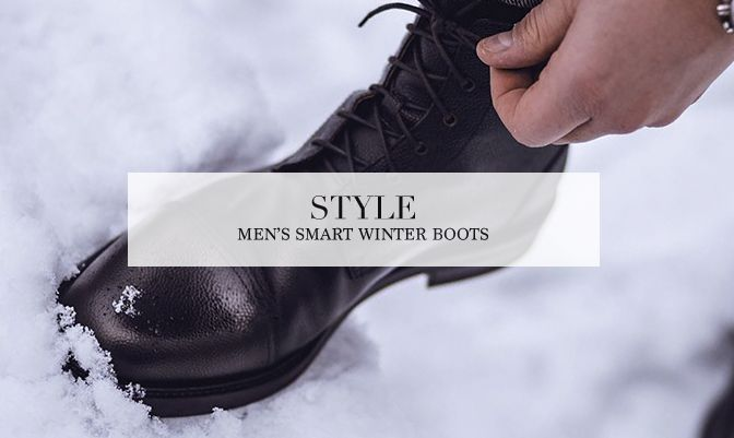 Men's Smart Winter Boots