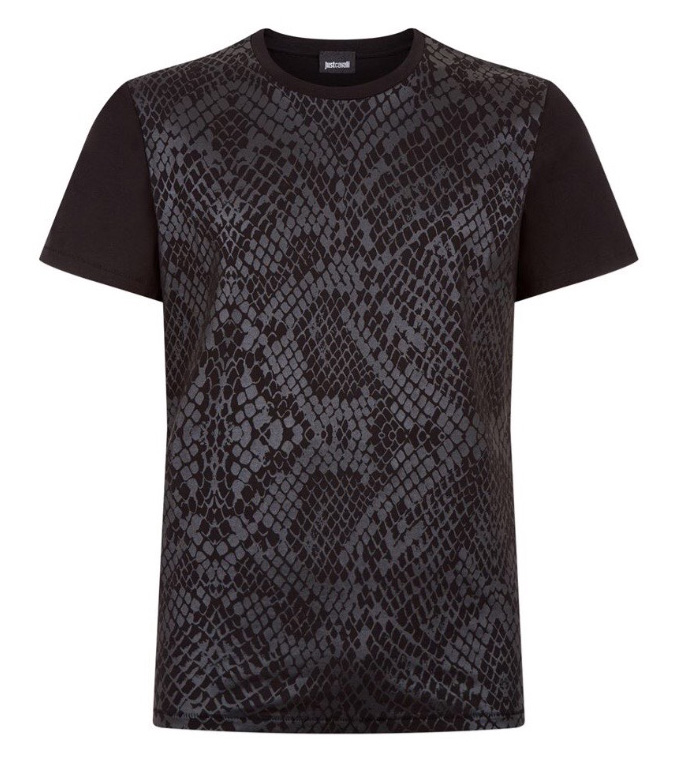 Just Cavalli (Black T-Shirts)