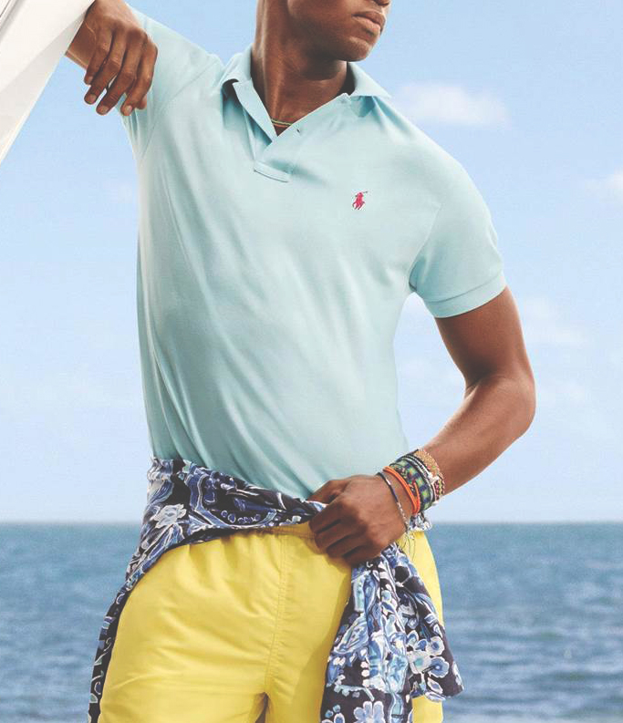 Polo shirt for yacht casual