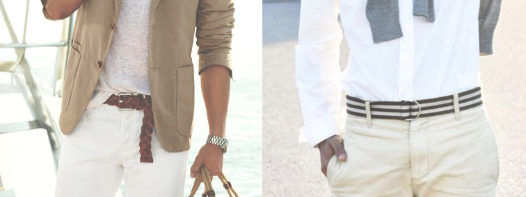 Yacht casual belts