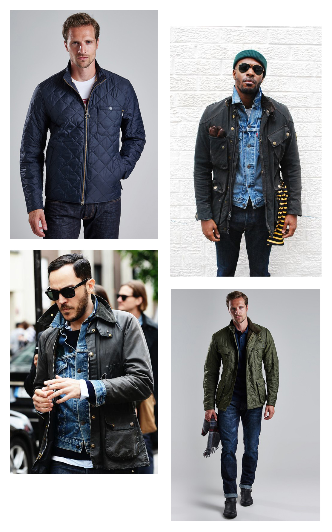 barbour casual style