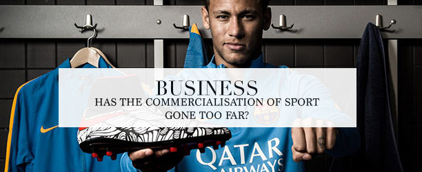 commercialisation of sport