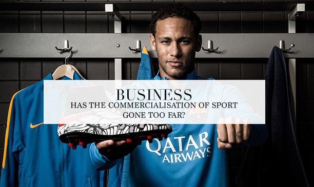 commercialisation of sport