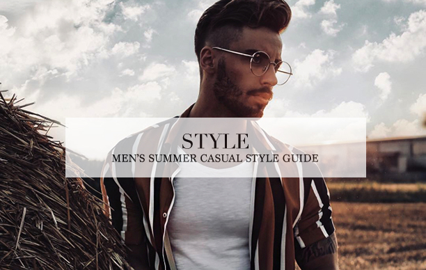 mens summer casual style guide