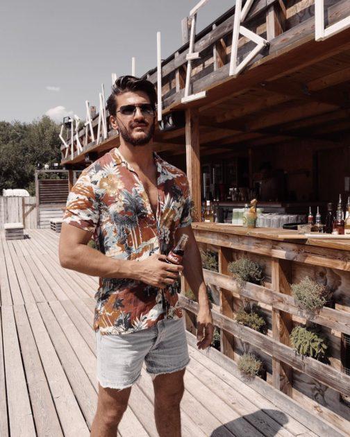 mens summer casual