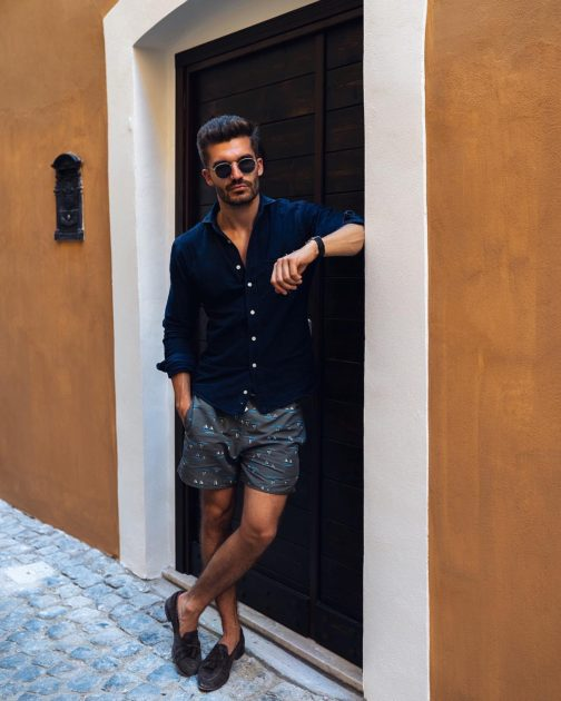 mens summer casual