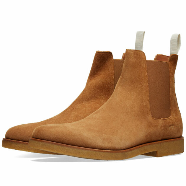 coomon projects suede chelsea boots