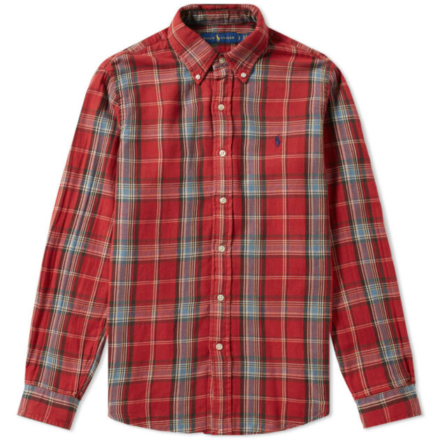 polo ralph lauren check overshirt