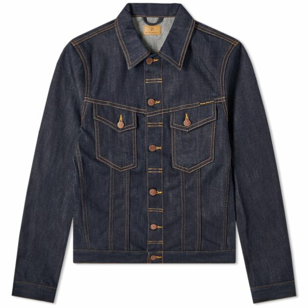 Nudie Billy Dry Ring Denim Jacket Denim