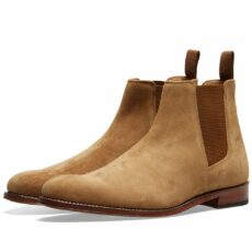 Grenson Declan Chelsea Boot Honey Suede