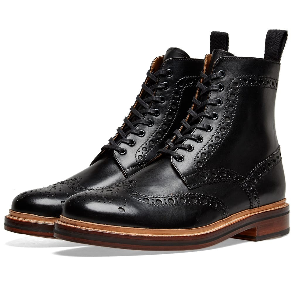 grensons brogue boots