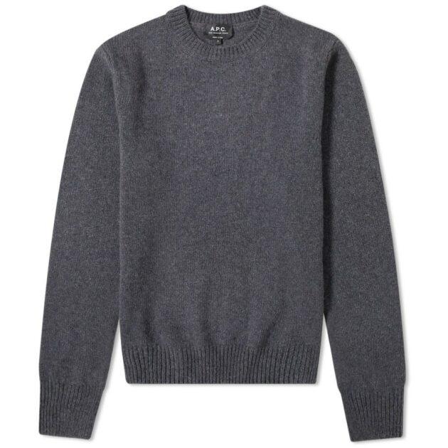 a.p.c_merino_cashmere_crew_knit_sweater