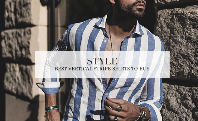 mens vertical stripe shirts